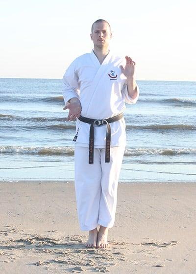 The Digi Dojo - Kata - Wadokai Niseishi - Mawashi Uke
