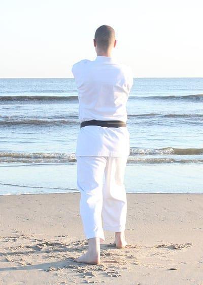 The Digi Dojo - Kata - Wadokai Niseishi - Morotezuki
