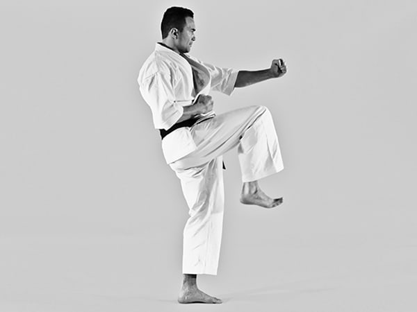 The Digi Dojo - Keri Waza - Raise knee