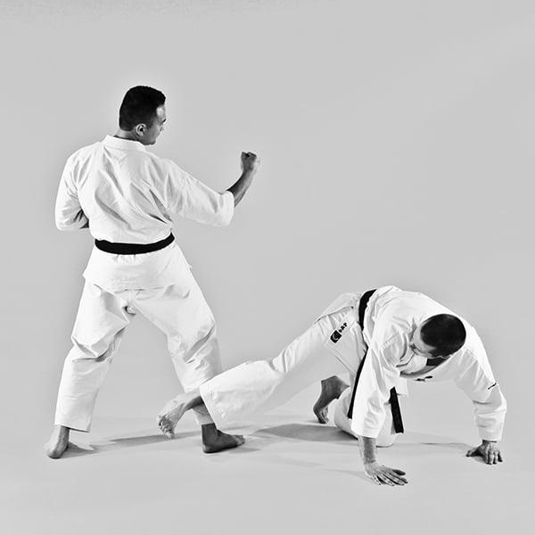 The Digi Dojo - Ohyo Kumite 10 - Ura Ashibarai