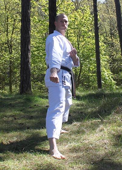 Wadokai Kata Chinto - The Digi Dojo - 11 - Gedan Gamae