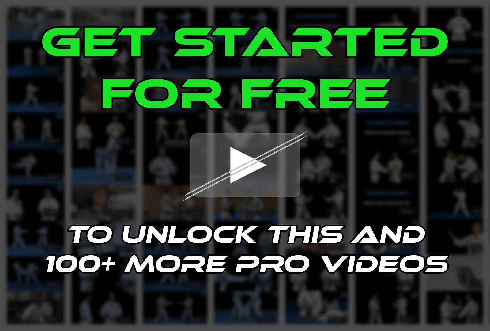 Get Started, It's Free