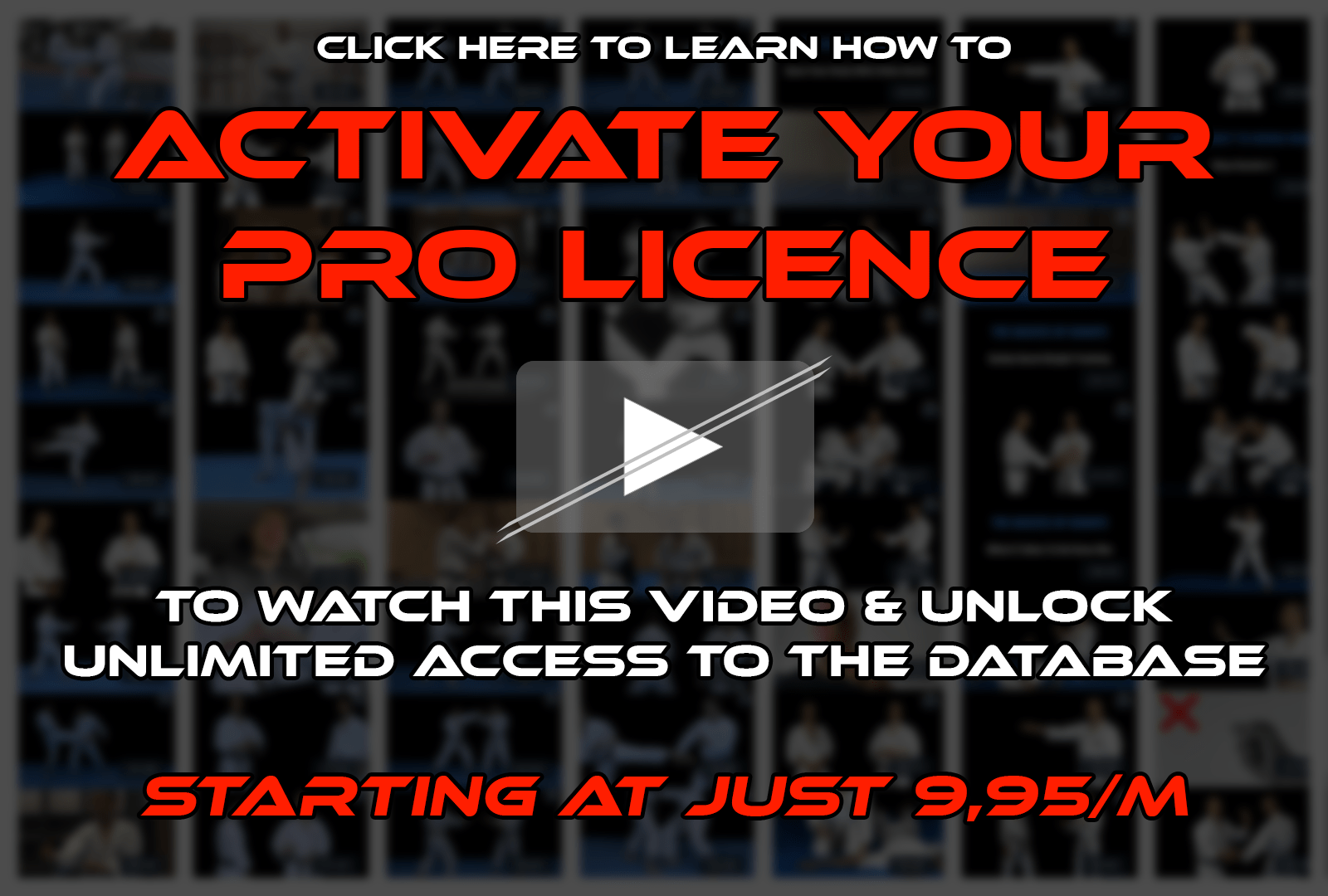 Unlock your acccess — Go Pro now