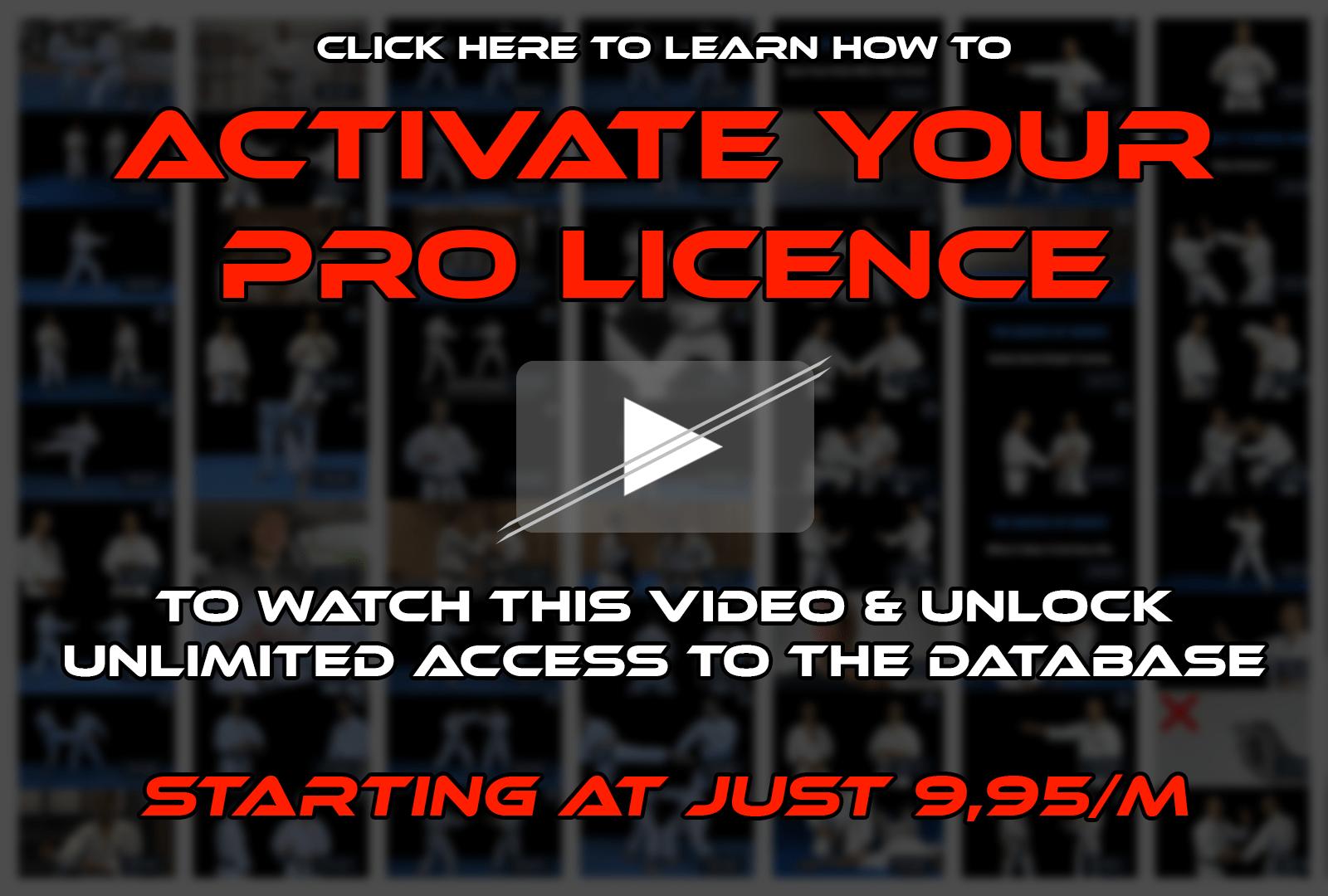 Unlock your acccess —Go Pro now