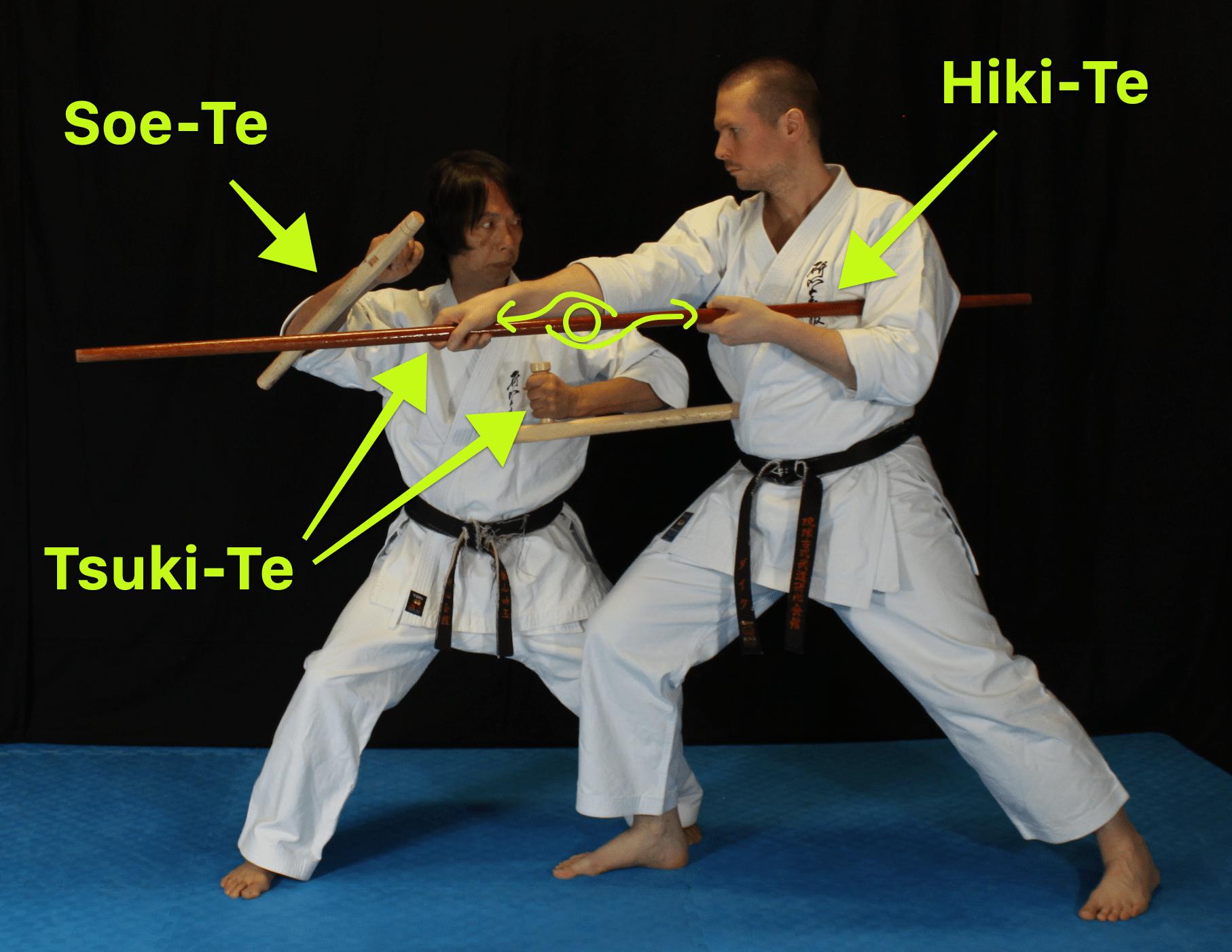 Hikite, Soete and Tsukite